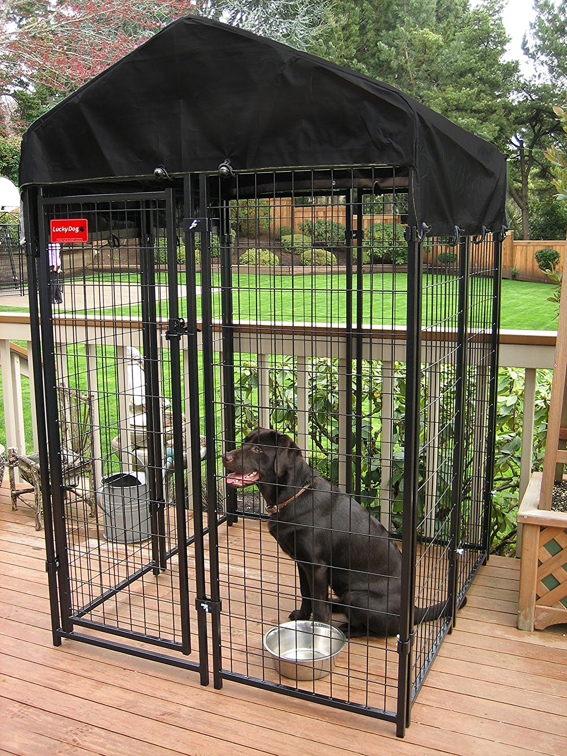 Lucky Dog Heavy Duty Dog Cage Outdoor Pet Playpen 4 Ft