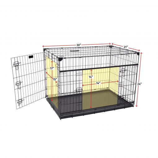 Small to medium dog crate dimensions