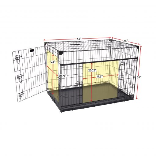 Large dog crate specs